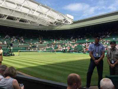 Wimbledon, Centre Court section Gangway 101
