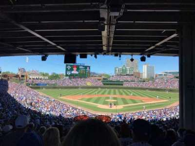 Wrigley Field, section: 222, row: 15, seat: 110