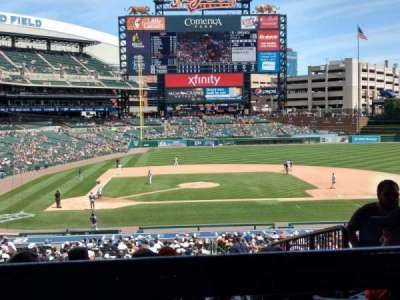 Comerica Park, section: 122, row: G, seat: 1