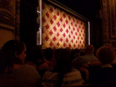 Cadillac Palace Theater, section: Orchestra L, row: F, seat: 21