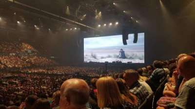 Arena Birmingham, section: 3 lower, row: P, seat: 121