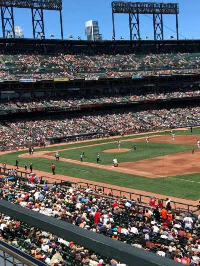 Oracle Park, section: 202, row: A, seat: 13