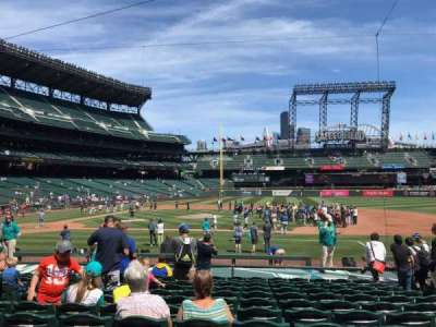 Safeco Field, section: 122, row: 16, seat: 5