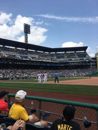 PNC Park, section: 8, row: C, seat: 2