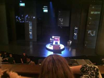 Music Box Theatre, section: Mezzanine Center, row: B, seat: 104