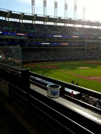 Progressive Field, section: 336, row: A, seat: 8