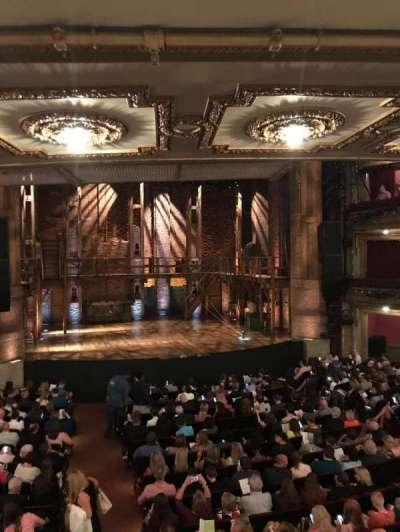 CIBC Theatre, section: Dress Circle LC, row: A, seat: 221