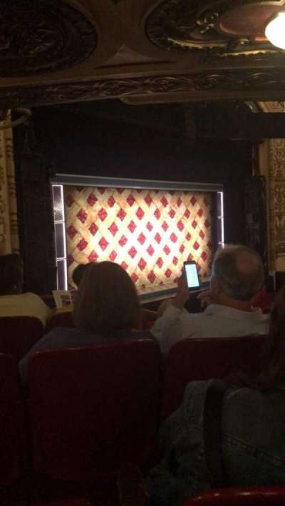 Cadillac Palace Theater, section: DCIRFL, row: FF, seat: 11
