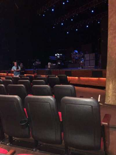 The Grand Theater at Foxwoods, section: Orchestra Right, row: G, seat: 20