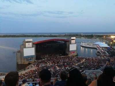 Jones Beach Theater, section: 25, row: N, seat: 6