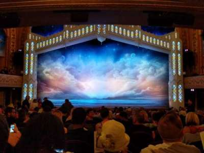 Eugene O'Neill Theatre, section: Orchestra, row: P, seat: 105