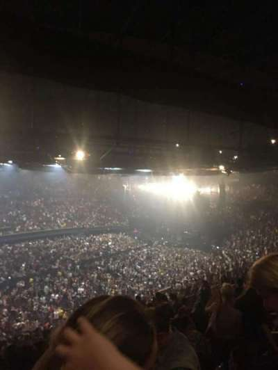 The Forum, section: 205, row: 13, seat: 7