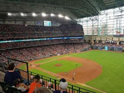Minute Maid Park, section: 329, row: 3, seat: 8