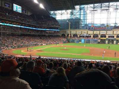 Minute Maid Park, section: 125, row: 37, seat: 11