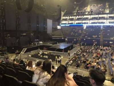 The O2 Arena, section: 101, row: R, seat: 46