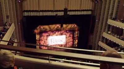 The Smith Center, section: Balcony, row: B, seat: 206
