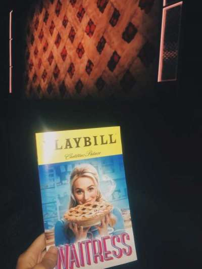 Cadillac Palace Theater, section: Orchestra R, row: B, seat: 10