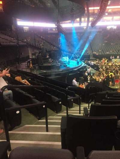 Golden 1 Center, section: 122, row: F, seat: 8-9