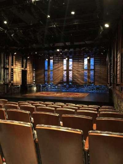 Cherry Lane Theatre, row: H, seat: 1
