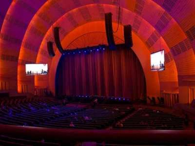 Radio City Music Hall section 1st Mezzanine 1