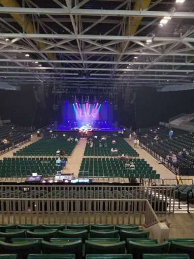 BancorpSouth Arena, section: 211, row: 6, seat: 3