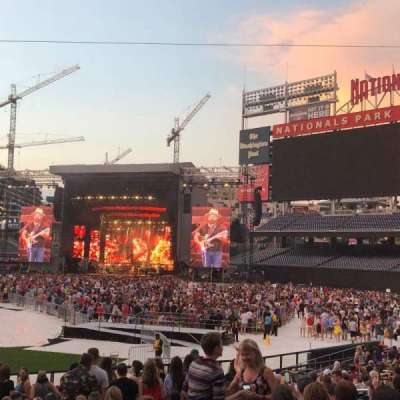 Nationals Park, section: 130, row: BB, seat: 12