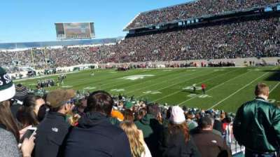 Spartan Stadium section 21