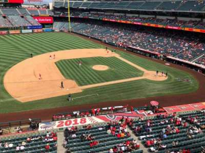 Angel Stadium section V411