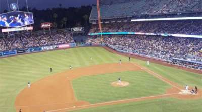 Dodger Stadium, section: 19RS, row: E, seat: 3
