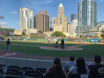 BB&T Ballpark (Charlotte) section 112