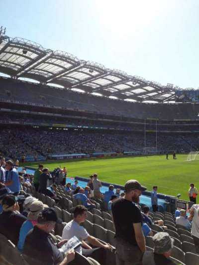 Croke Park section Cusack Stand 308