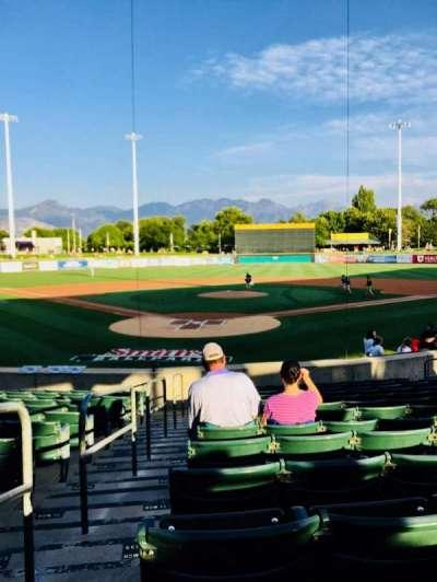 Smith's Ballpark, section: 12, row: 15, seat: 16
