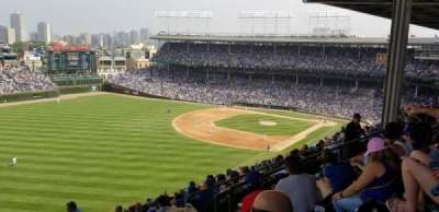 Wrigley Field section 404L