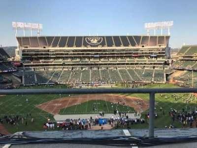Oakland Coliseum section 317