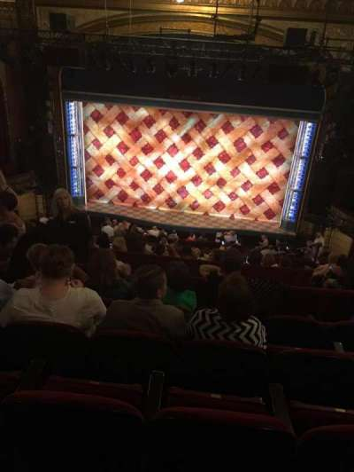 Brooks Atkinson Theatre section Rear Mezzanine RC
