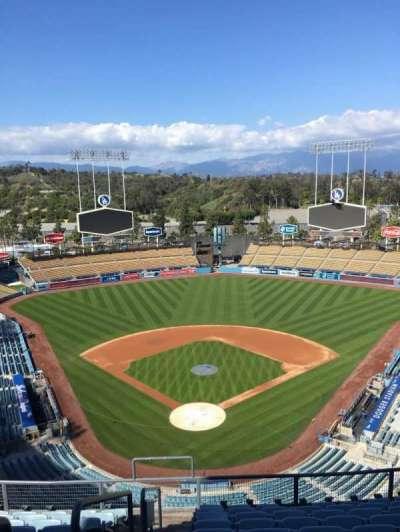 Dodger Stadium, section: 2TD, row: K, seat: 1-2