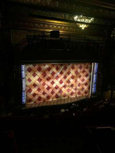 Brooks Atkinson Theatre section Rear Mezzanine L