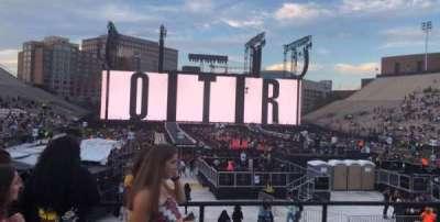 Vanderbilt Stadium, section: K