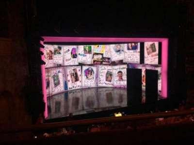 August Wilson Theatre section MezzL