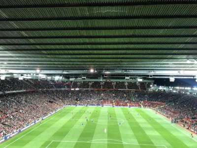 Old Trafford section W3104