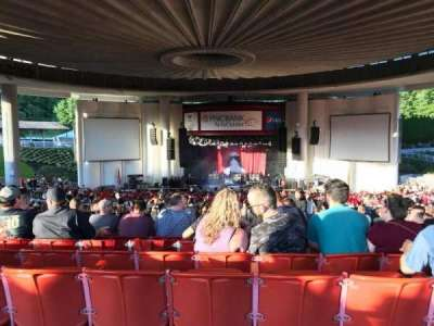 PNC Bank Arts Center, section: 403, row: A, seat: 128