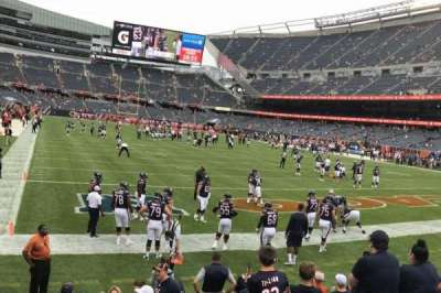 Soldier Field, section: 154, row: 5, seat: 7