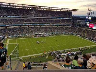 Lincoln Financial Field section 222