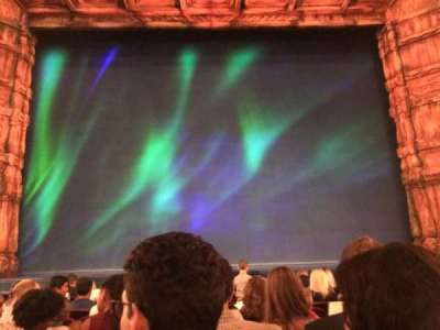 St. James Theatre, section: Orchestra C, row: H, seat: 108