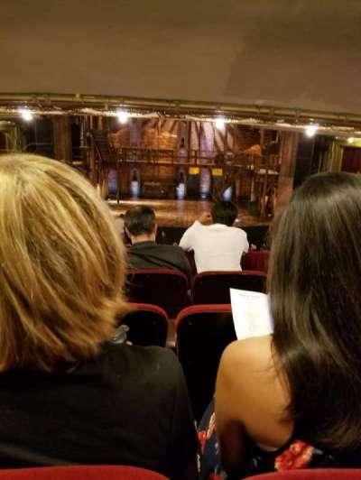 CIBC Theatre section Dress Circle RC