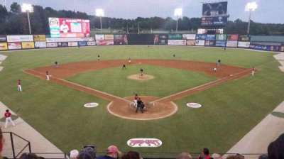 Five County Stadium, section: 210, row: H, seat: 10