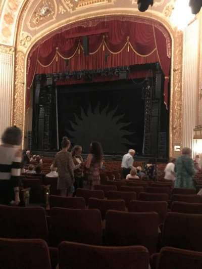 Orpheum Theatre (Memphis) section Orchestra R