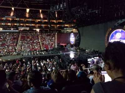 Toyota Center section 106