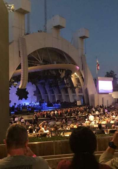Hollywood Bowl, section: E, row: 6, seat: 37