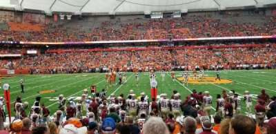 Carrier Dome section 117